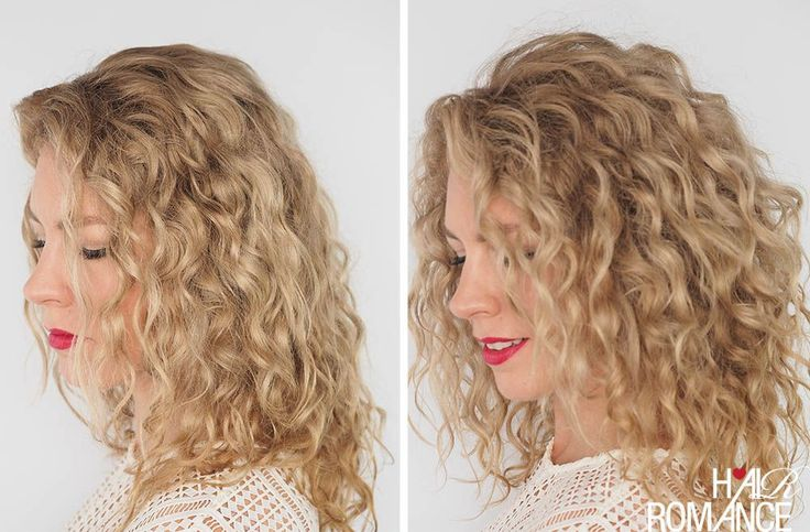 how to get more volume in curly hair
