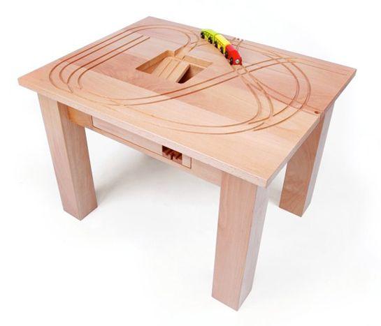 La Treintafel - Table pour train - Design: Tomm Velthuis