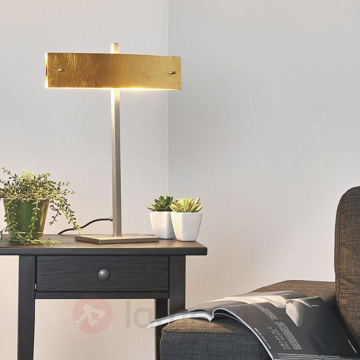 Exklusiv bordslampa med dimmer