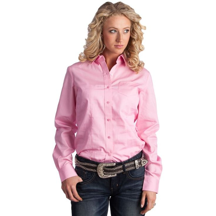 cruel girl | ... Shirts / Women's Cruel Girl Pink Buttondown Shirt (Item #CTW9164071