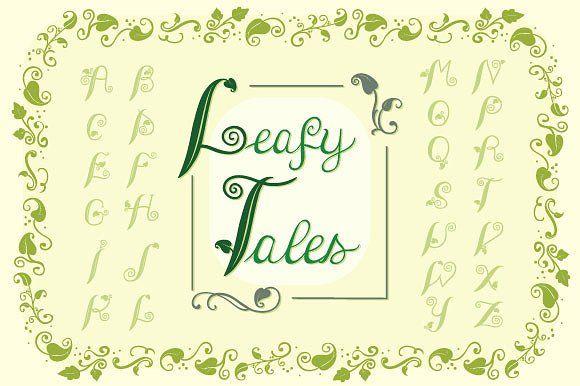 Leafy Tales Fonts by TatianaCociorva on @creativemarket