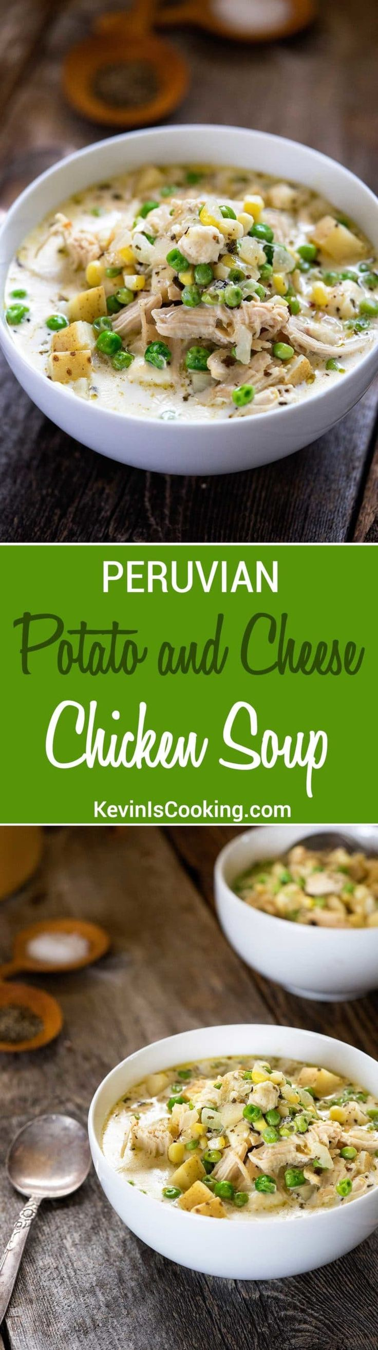 Fresh corn, potatoes and melting cheese elevates this easy-to-make and perfectly seasoned Peruvian Potato Cheese Soup into something special.