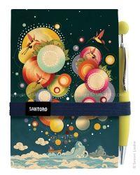 Eclectic Premium Journal with Pen - Night Rainbow