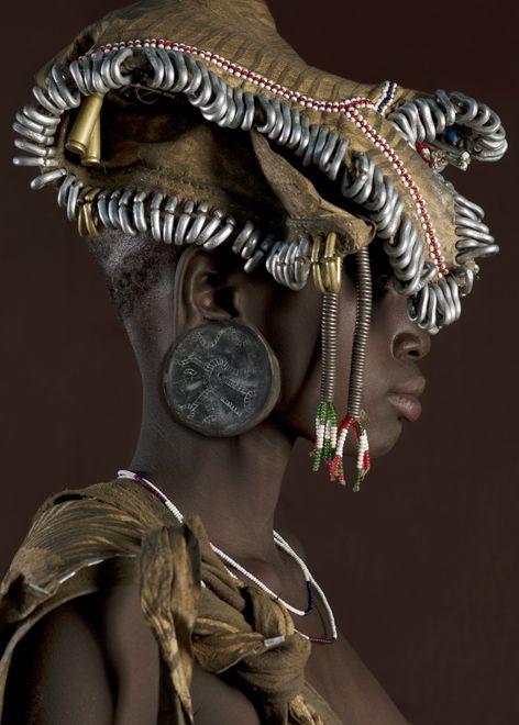 Garota etíope fotografada por Jaime Ocampo-Rangel