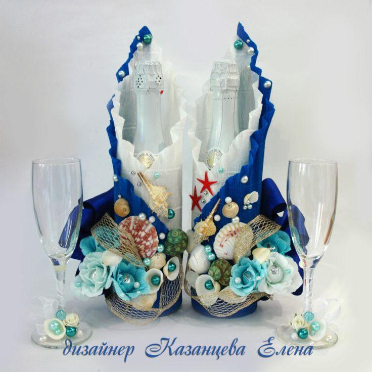 Gallery.ru / Фото #37 - свадебные бутылки - kazantceva