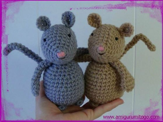 Amigurumi To Go: Mouse German Translation by Andrea Herter