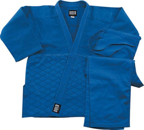 Blue Single Weave Judo Gi Slight Imperfections by Bold Look | eBay