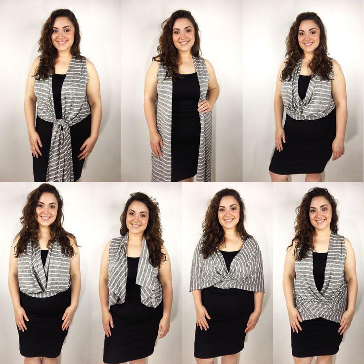 Ways to style the LuLaRoe Joy vest