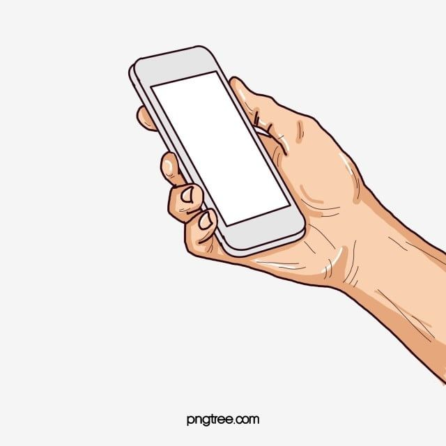 The Hand Holding A Cell Phone Png And Psd Hand Holding Phone Clip Art Money Icons