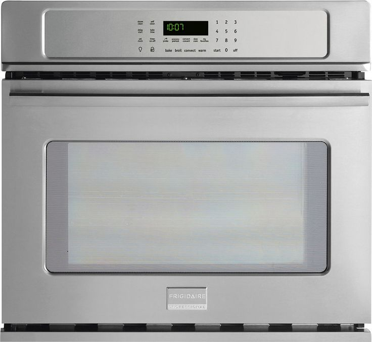 View the Frigidaire FPEW3085P 30 Inch 4.6 Cu. Ft. Professional Single Electric Oven with Dual Fan Convection, SpaceWise® Half Rack, and One Touch Keep Warm Setting at Build.com.