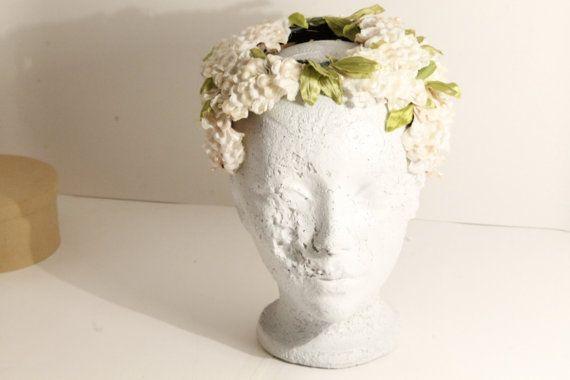Flower Tiara Bridal Tiara  Brida Headpiece by ClockworkRummage