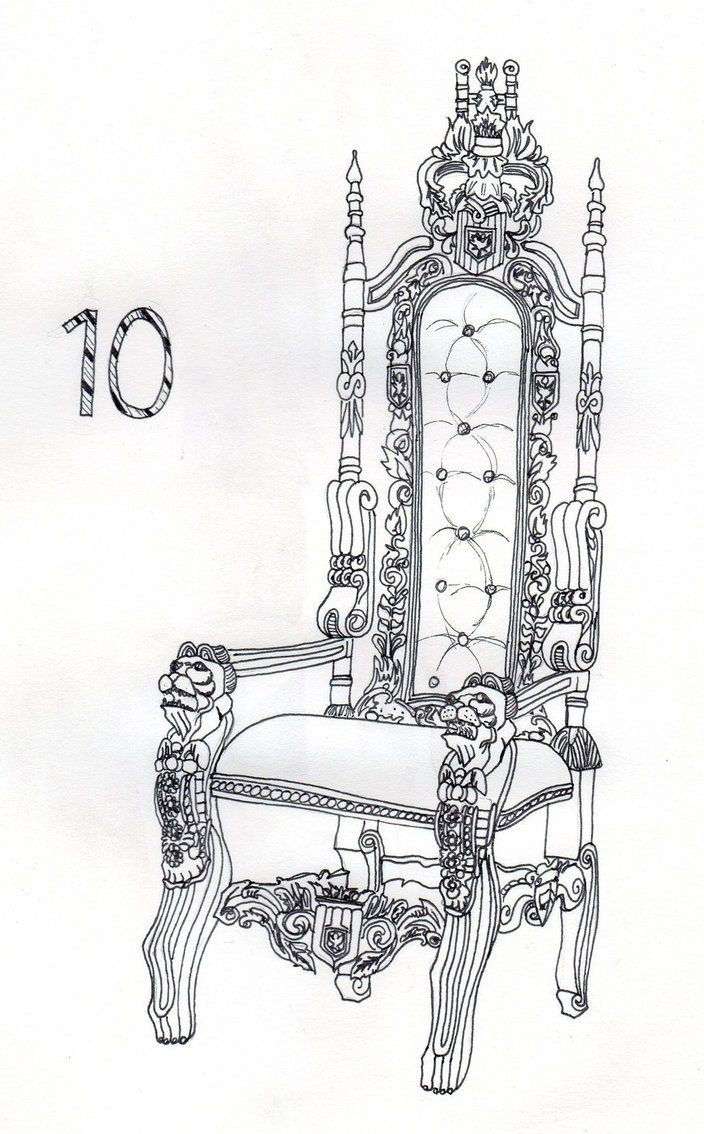 10 - Royal Chair by Dz-Drawing