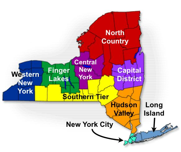Western New York State Map.29 Things Only People From Upstate New York Understand New York