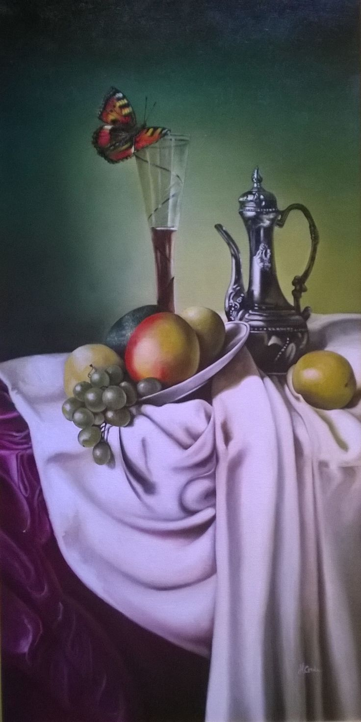 Still life N 220, Oil Painting, 100x60 cm, 2011 Inspirational Examples