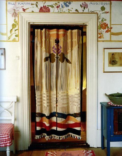 Textile design by Karin Larsson c.1900