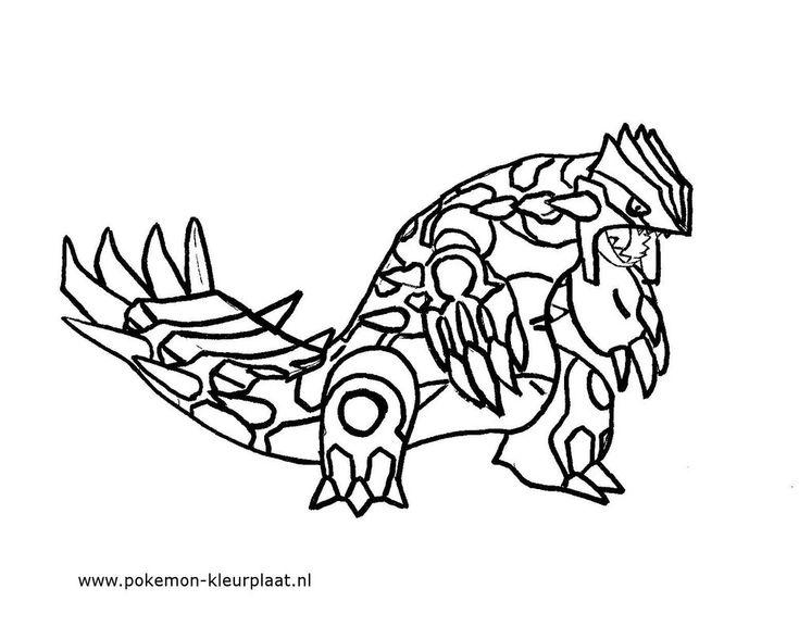Primal Groudon #primalgroudon #pokemon #coloringpage ...