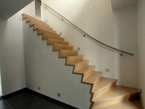 Betonnen trap bekleden met hout google zoeken inrichting huis pinterest - Ontwerp betonnen trap ...