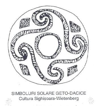 simboluri solare geto dace - romanian mithology