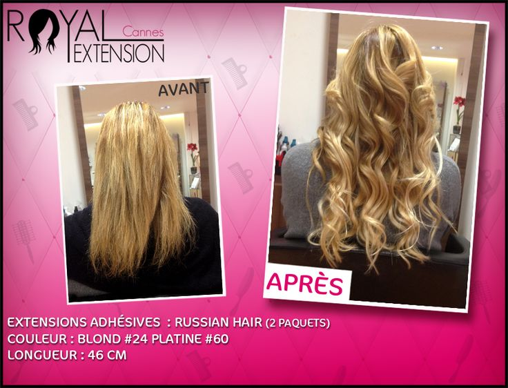 Extensions en bandes adhésives Russian Hair : http://www.royalextension.com/fr/catalogue/produit/extensions-adhesives-/-tape-raides-46-cm-russian-hair.38-401.html