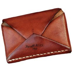 Barrett Alley Disciple Wallet - Valet's 2010 Holiday Gift Guide