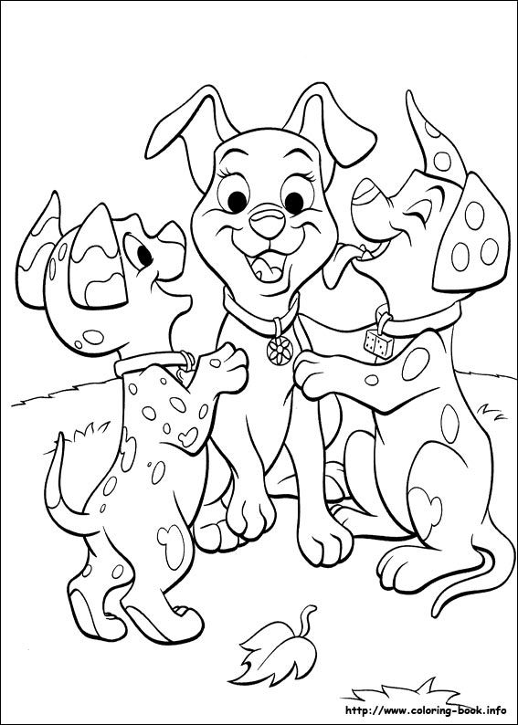 170 best Disney 101 Dalmations 102 Dalmations Coloring Pages