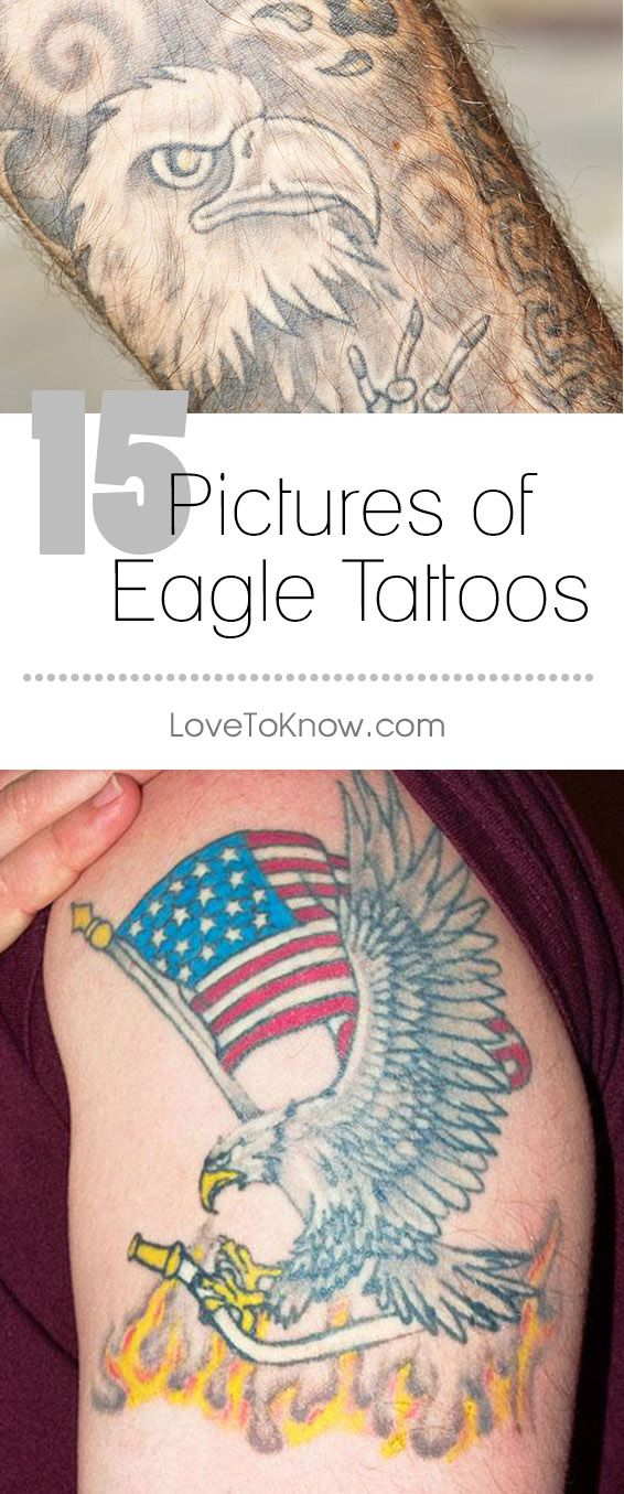 Eagles are classic subjects for tattoos because they symbolize power and patriotism, and their popularity never seems to wear out. If you want a tattoo that will stand the test of time, consider the mighty eagle as you browse through this gallery of design ideas. – LoveToKnow