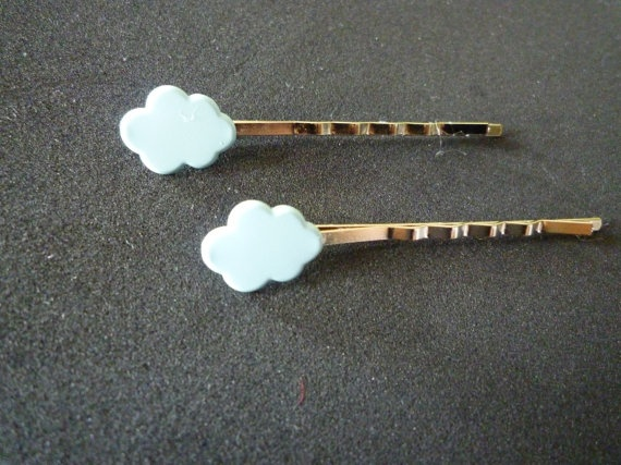 cloud hair pins