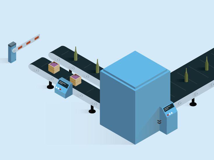 Conveyor belt by Sebastián Falasca for Aerolab
