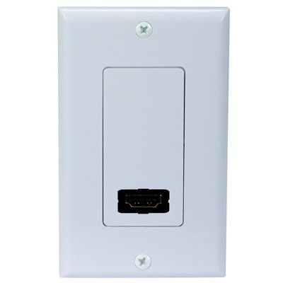 RCA Single Outlet HDMI Wall Plate