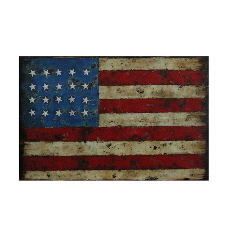 Schilderij Amerikaanse vlag | Ruime keus & snelle levertijd! | HACO
