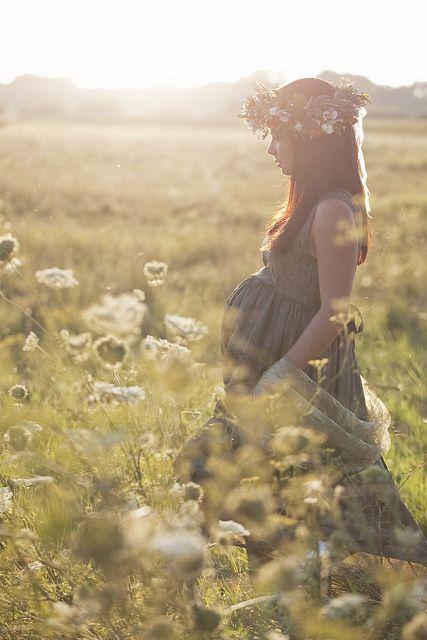 Encuentro que las flores son ideales para hacer una foto más romántica. Que bien se ven en un primer plano.