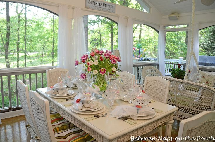 Table Setting: Spring Tablescapes, Tables Sets, Tulip Tablescapes, Marshmallows Flowers, Google Search, Easter Tables, Pretty Tables, Pottery Barns, Easter Spring