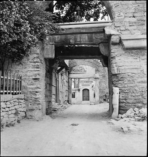 Silivri Kapı (Gate of the Pege) on the Land Walls, May 1937.
