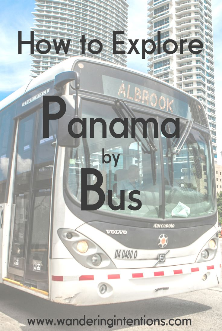 Tips on exploring Panama by bus - Wandering Intentions'