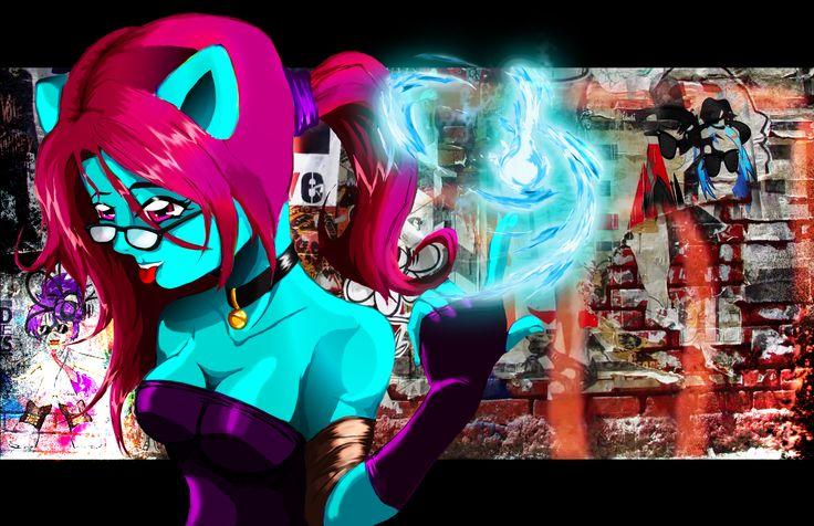 oc de Samantha P. Cedillo Merino dibujado por Alejandro Navarro - oc of Samantha P. Cedillo Merino drawn by Alejandro Navarro