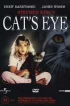 Cat's Eye (1985) - A stray cat is the linking element of three tales of suspense and horror.  Cast: Alan King Candy Clark Charles S. Dutton Drew Barrymore James Naughton James Rebhorn James Woods Kenneth Mcmillan Mike Starr Patricia Kalember Robert Hays