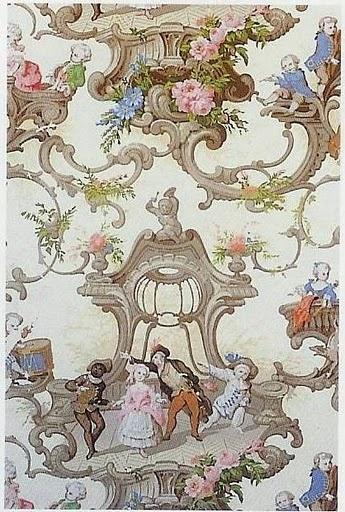 De 25 bedste id er inden for victorian wallpaper p pinterest - Late victorian wallpaper ...