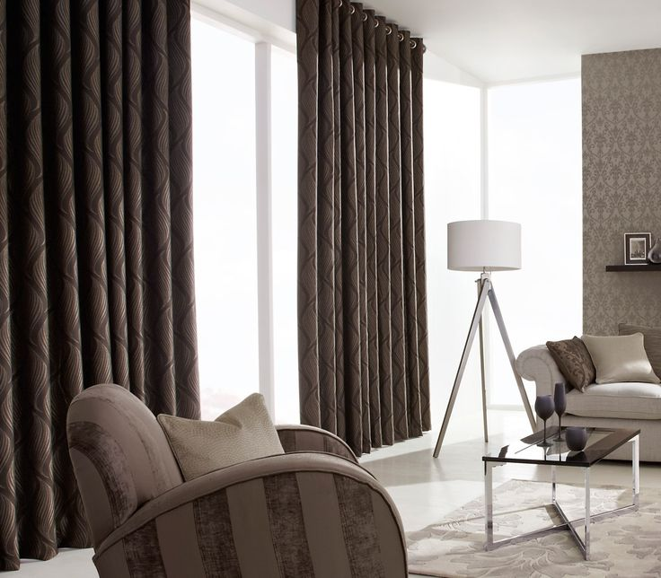 These iLiv Ciprini Curtains are a shimmering wavelike velvet fabric available in a sophisticated range of three colour-ways; Mink, Granite and Mocha! The shimmering texture of this curtain and wavelike pattern provides an effective but subtle detail to a living space!