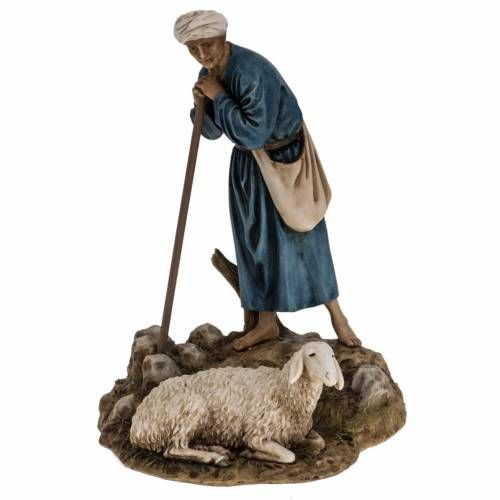 Guardián de ovejas pesebre 18cm Landi | venta online en HOLYART