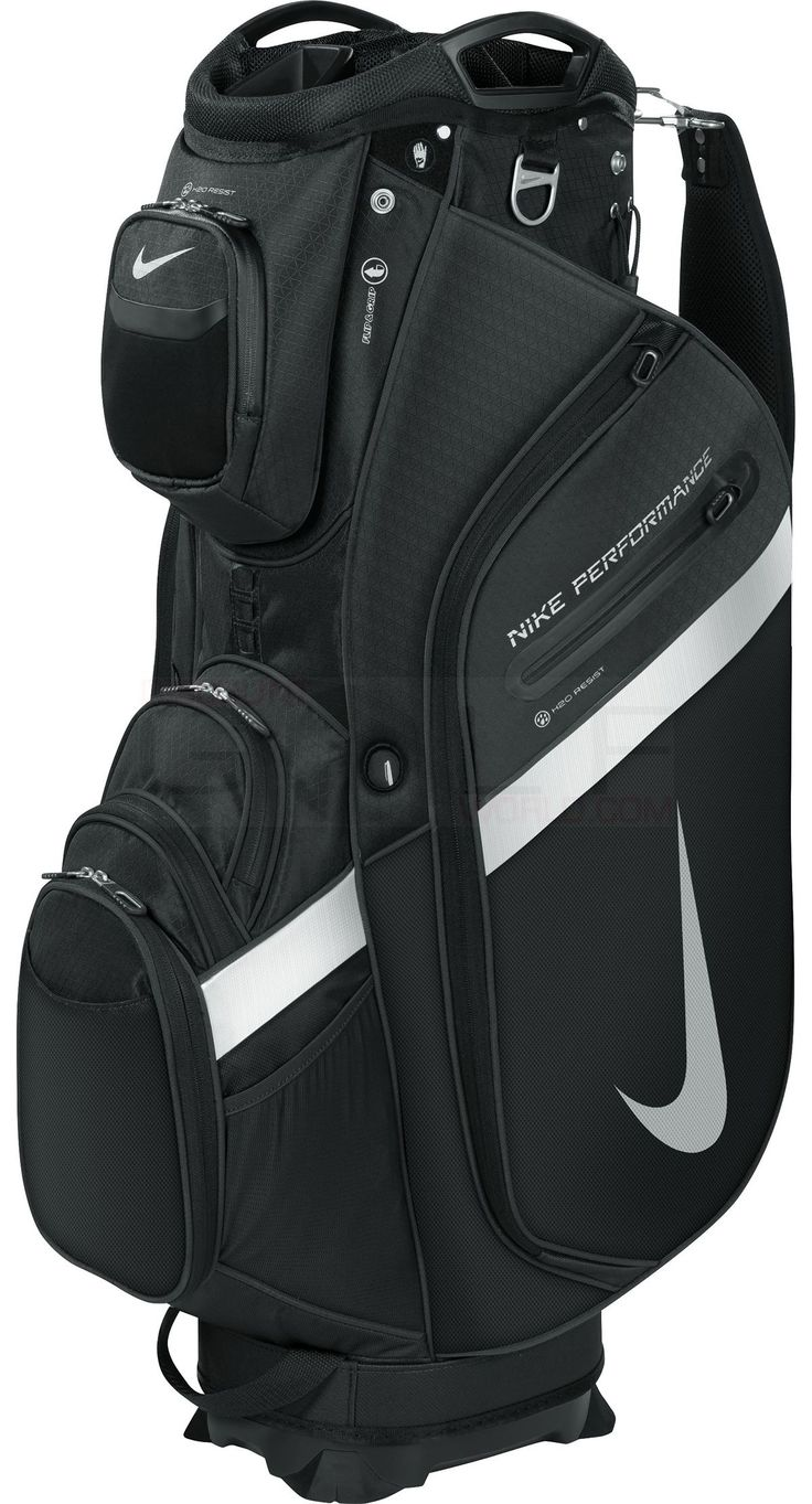 Nike Performance Cart IV Bag 14-Way Dual-Sided Top, 19 Functional Pockets Mens Golf Bags Bags & Carts