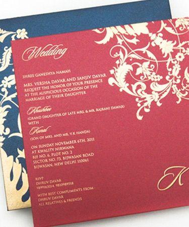 Beautiful yet Affordable Wedding Invitations