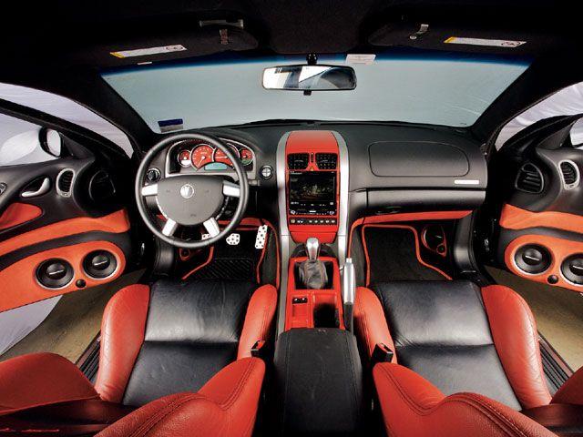 Pontiac GTO 2005-2006 Dash