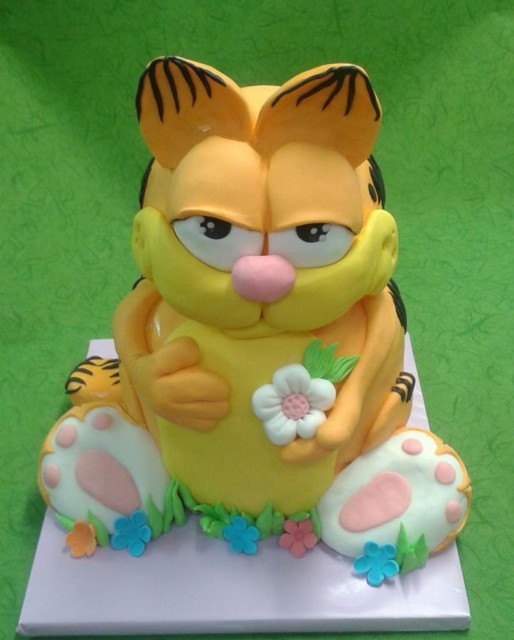 Garfield And Friends Cake
