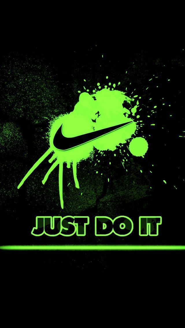 Nike Just Do It Iphone Wallpaper Hd Best Iphone Wallpaper The Word Nike Is Taken From The Nam Best Iphone Wallpapers Nike Wallpaper Iphone Nike Wallpaper