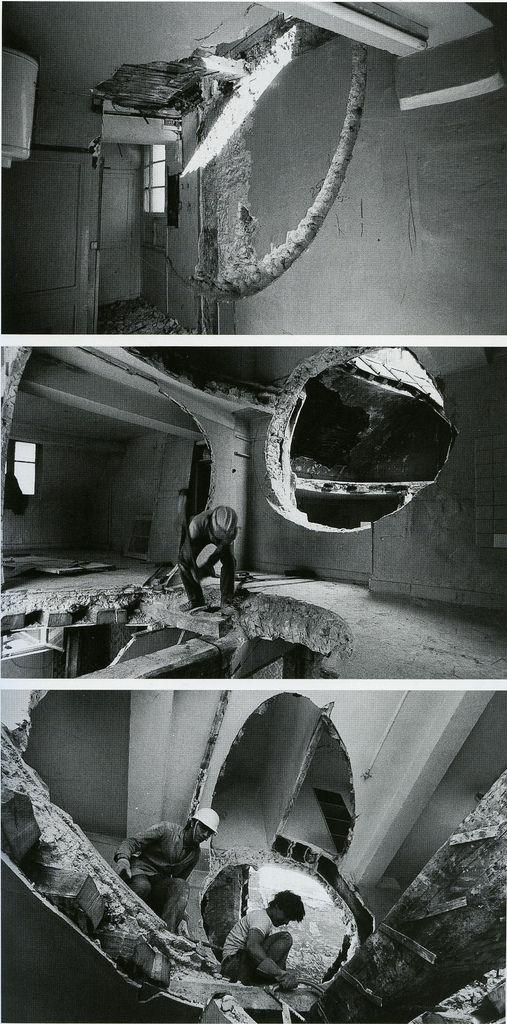 matta clark- conical intersect- 1975