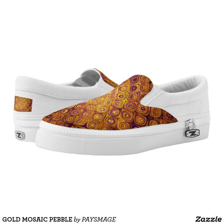 GOLD MOSAIC PEBBLE Slip-On SNEAKERS