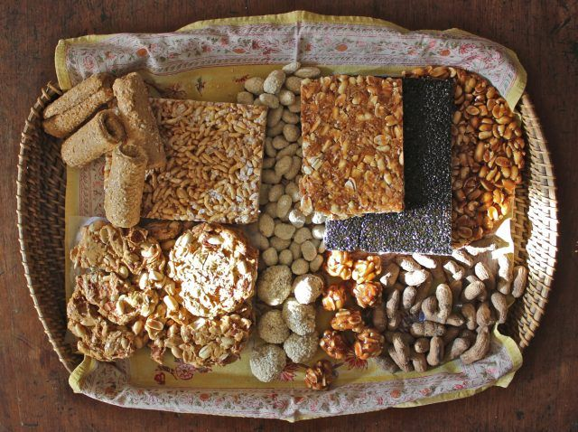 Gachak. Rewri on Lohri celebration - Indian Festivals Calendar