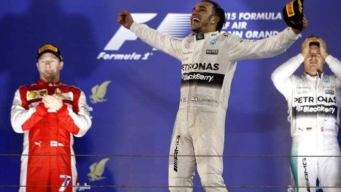 Lewis Hamilton wins Bahrain Grand Prix - BBC Sport