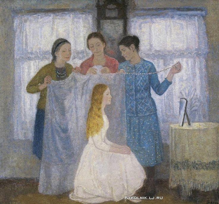 Телин Владимир Никитович (Россия, 1941-2012) «Невеста» 1987