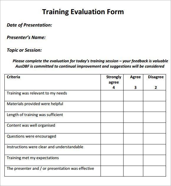 Best 25+ Presentation Evaluation Form Ideas On Pinterest Quality   Peer Evaluation  Form